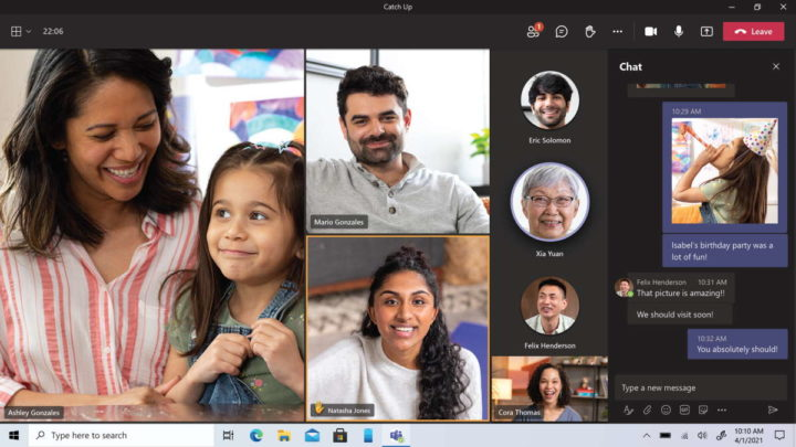 In-person chats in Microsoft Teams
